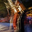 Stock Photo: Mystical dance 1