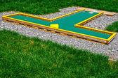 Kleine golfplatz 18 — Stockfoto