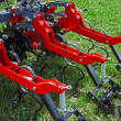 Agricultural equipment. Detail 165 — Stock Photo