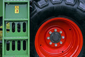 Agricultural equipment. Detail 162 — Stock Photo