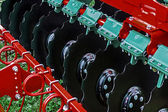 Agricultural equipment. Detail 161 — Stock Photo