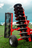 Agricultural equipment. Detail 163 — Stock Photo