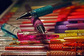 Colored pens 9 — Stock Photo