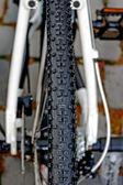 Bicycle wheel. Detail 15 — Stock Photo