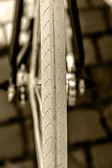 Roda de bicicleta. detalhe 18 — Fotografia Stock