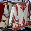 Foto Stock: Romanitraditional costumes 2