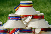 Hats for mens traditional romanian-1 — Stock Photo