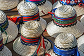 Hats for mens traditional romanian-2 — 图库照片