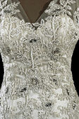 Wedding dress. Detail-56 — Stock Photo