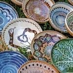 Folk pottery 12 — Stock Photo #33497359