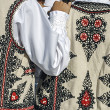 Traditional Romanian folk costume.Detail 32 — Stock Photo #33497417