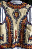 Traditional Romanian folk costume.Detail 31 — Stock Photo