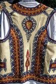 Traditional Romanian folk costume.Detail 31 — Stock Photo