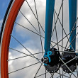 Bicycle wheel. Detail 19 — Stock Photo #33638063