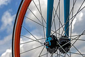 Bicycle wheel. Detail 19 — Stock Photo