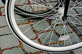 Bicycle wheel. Detail 21 — Stock Photo