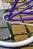 Bicycle wheel. Detail 20 — Stock Photo