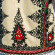 Traditional Romanian folk costume.Detail 35 — Stock Photo