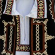 Traditional Romanian folk costume.Detail 36 — Stock Photo