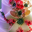 Wedding cake specially decorated.Detail 33 — Stock Photo