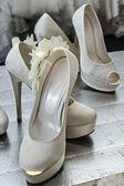 Zapatos de novia -4 — Foto de Stock