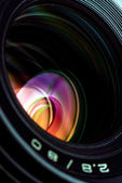 Professional photo lens closeup 2 — Stock Photo