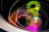 Professional photo lens closeup 4 — Foto Stock