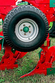 Agricultural equipment. Detail 173 — Stock Photo