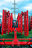 Agricultural equipment. Detail 172 — Stock Photo