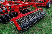Agricultural equipment. Detail 178 — Stock Photo