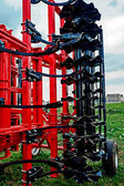 Agricultural equipment. Detail 187 — Stock Photo