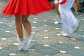 Catalan Spanish Dance — Stock Photo
