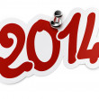 2014 (two thousand fourteen) — Foto de Stock