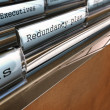Redundancy Plan, Restructuring a Company — Stock Photo
