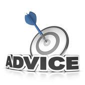 Advice Concept — Stock Photo