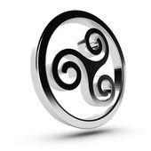 Celtic Triskelion — Stock Photo