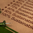Fully Sustainable, Improving Sustainability — Stock Photo #24858993