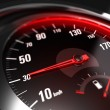 Reducing Speed Safe Driving Concept - 30 Km h — Stock Photo