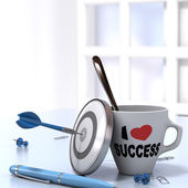 Successful Executive Concept — Stock Photo