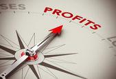 Profits Growth - Make Money — Stock Photo