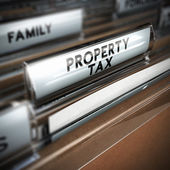 Property Tax — Stock Photo