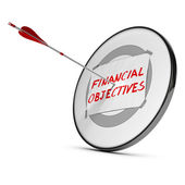 Achieving Financial Objectives Concept — Stock Photo