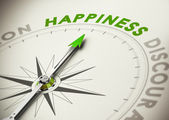 Achieving Happiness Concept — Stock Photo