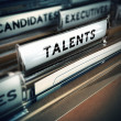 Talents Recruitment Concept — Stock Photo #37102673