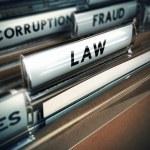 Law Concept — Stock Photo