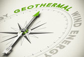 Choice - Geothermal Concept — Stock Photo