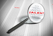 Searching for Talents - Recruitment Concept — Stock Photo