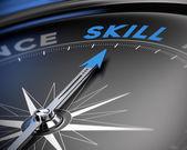 Skill Concept, Training — Stock Photo