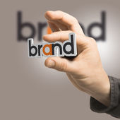 Brand - Company Identity — Stock Photo