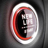 Life Change Concept — Stock Photo